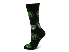 Marvel Hulk Black Socks