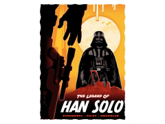 Star Wars Legend of Han Solo Limited Edition Lithograph