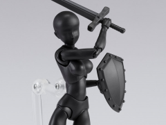 S.H.Figuarts DX Body-chan Set (Solid Black Color Ver.)