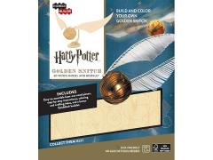 Harry Potter IncrediBuilds Golden Snitch Book & 3D Wood Model