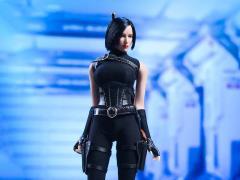 Assassin Bodysuit (Black) 1/6 Scale Accessory Set