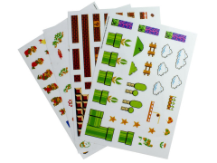 Super Mario Bros. Gadget Decals Four-Pack