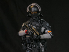 French National Police Intervention Groups GIPN in Marseille 1/6 Scale Figure