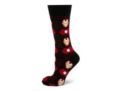Marvel Iron Man Stripe Black Socks