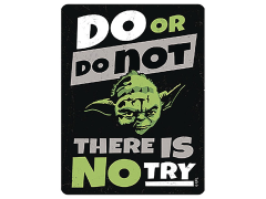 Star Wars Do or Do Not Metal Magnet