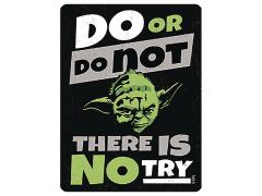 Star Wars Do or Do Not Metal Magnet