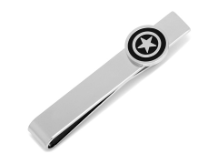 Marvel Captain America Silver Tie Bar