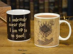 Harry Potter Maurader's Map Heat Change Mug