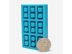 Mini Materials 1/18 Scale Mini Cinder Block Mold (9 Piece)