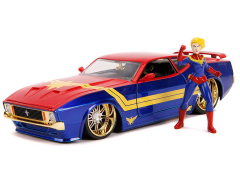 Marvel Hollywood Rides Captain Marvel & 1973 Ford Mustang Mach 1 1/24 Scale Vehicle