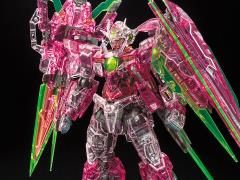 Gundam RG 1/144 00 Qan[T] Full Saber (Trans-am Clear) Gundam Base Limited Exclusive Model Kit