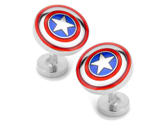 Marvel Avengers Captain America Shield Cufflinks