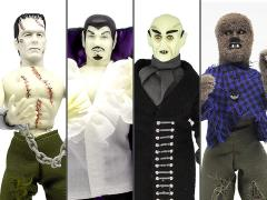 "Horror Wave 2 Set of 4 Mego 8"" Figures"