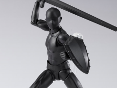 S.H.Figuarts DX Body-kun Set (Solid Black Color Ver.)