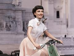 Roman Holiday Princess Ann & 1951 Vespa 125 Superb 1/4 Scale Statue