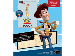 Toy Story IncrediBuilds Woody Book & 3D Wood Model