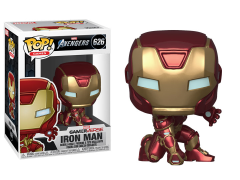 Pop! Marvel: Avengers Game - Iron Man (Stark Tech Suit)