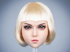 Mary Female Head Sculpt (Blond Hair) 1/6 Scale Accessory