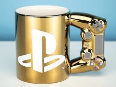 PlayStation Gold Controller Mug