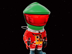 2001: A Space Odyssey Deform Real Discovery Astronaut (Rescue Suit)
