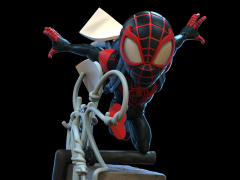 Marvel Q-Fig Elite Spider-Man: Miles Morales Diorama