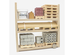 Mini Materials 1/12 Scale Ultimate Warehouse Rack
