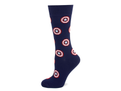 Marvel Captain America Navy Socks