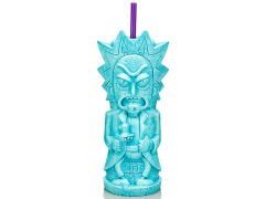 Rick and Morty Rick Geeki Tikis Plastic Tumbler