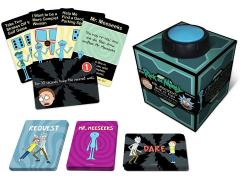 Rick and Morty Mr. Meeseeks' Box O' Fun Dice & Card Game