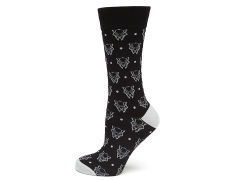 Marvel Black Panther Dot Socks