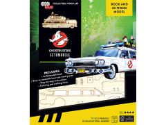 Ghostbusters IncrediBuilds Ectomobile Book & 3D Wood Model