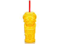 Rick and Morty Morty Geeki Tikis Plastic Tumbler