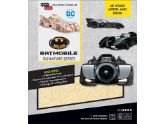 Batman IncrediBuilds Batmobile Signature Series Book & 3D Wood Model