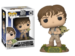 Pop! Star Wars: The Empire Strikes Back - Training Luke with Yoda