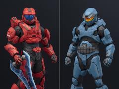 Halo ArtFX+ Mjolnir Mark V & Mark VI DX Statue Two-Pack