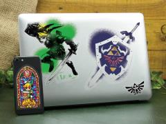 The Legend of Zelda Hyrule Gadget Decals Four-Pack