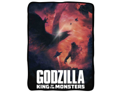 Godzilla: King of the Monsters Fleece Throw