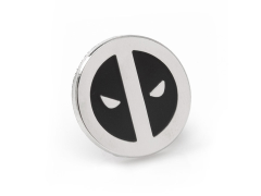 Marvel Deadpool Mask Silver Lapel Pin