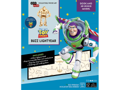 Toy Story IncrediBuilds Buzz Lightyear Book & 3D Wood Model