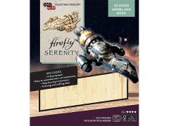 Firefly IncrediBuilds Serenity Book & 3D Wood Model