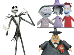 The Nightmare Before Christmas Select Best of Series Wave 1 Set of 5 Figures
