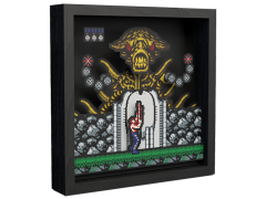 Contra Alien Boss Pixel Frame (9x9)
