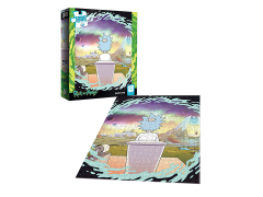 Rick and Morty Shy Pooper 1000-Piece Puzzle