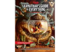 Dungeons & Dragons Xanathar's Guide to Everything Book