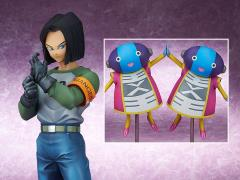 Dragon Ball Super Gigantic Series Android 17 (With Grand Zeno) Exclusive