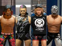 New Japan Pro-Wrestling Ultimates Wave 2 Set of 4 Figures
