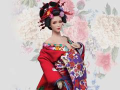 Oiran Ichiya (Red Furisode) 1/6 Scale Accessory Set