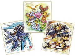 Digimon Adventure Shikishi Art Box of 10 Exclusive Art Cards