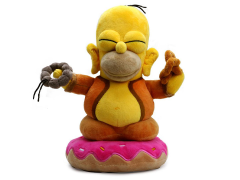 "The Simpsons Homer Buddha 10"" Plush"