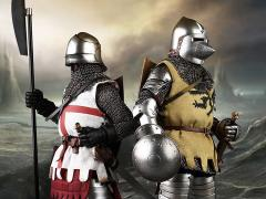 Order of the Sacred Garter Feudal Knight & Baron Knight 1/6 Scale Figures Set